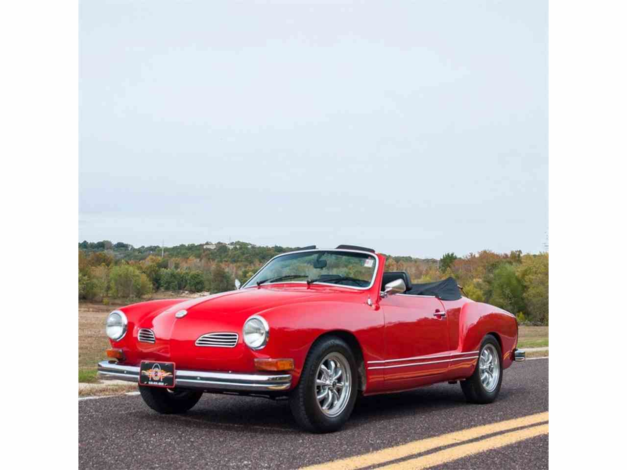 Large Picture of Classic 1972 Volkswagen Karmann Ghia located in St. Louis Missouri Offered by MotoeXotica Classic Cars - MB4C