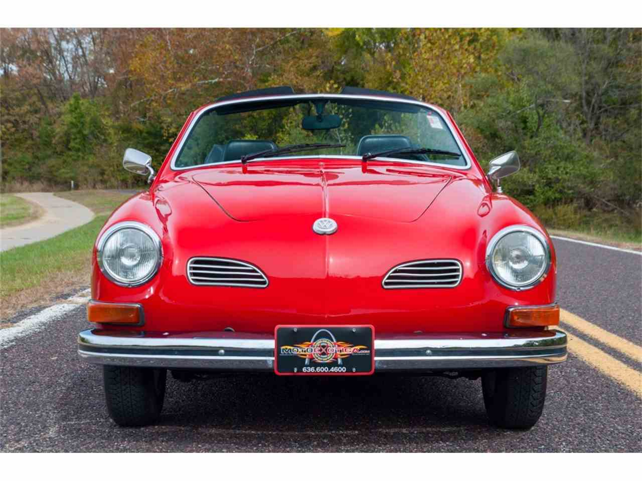 Large Picture of 1972 Karmann Ghia Offered by MotoeXotica Classic Cars - MB4C