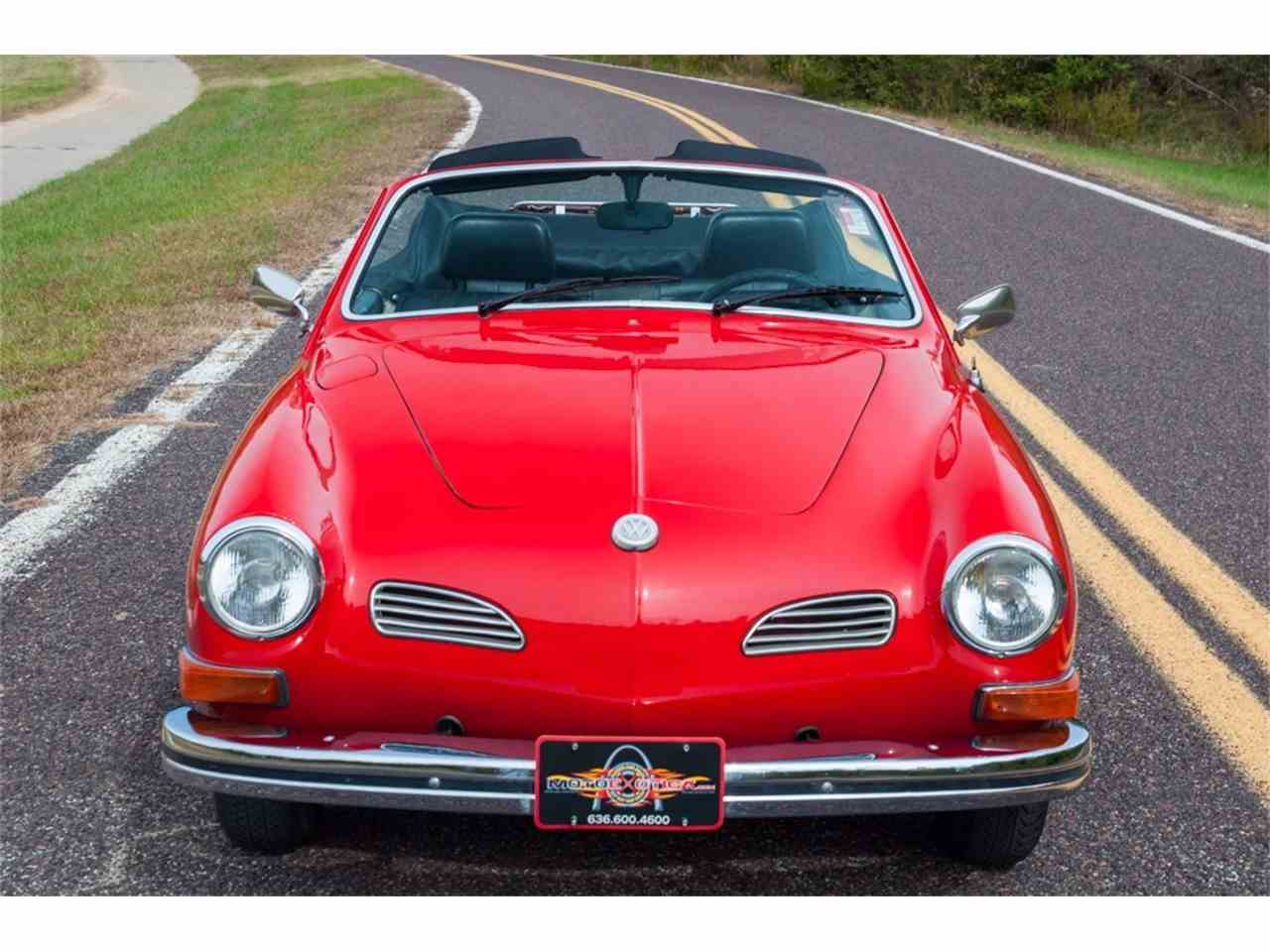 Large Picture of 1972 Volkswagen Karmann Ghia Offered by MotoeXotica Classic Cars - MB4C