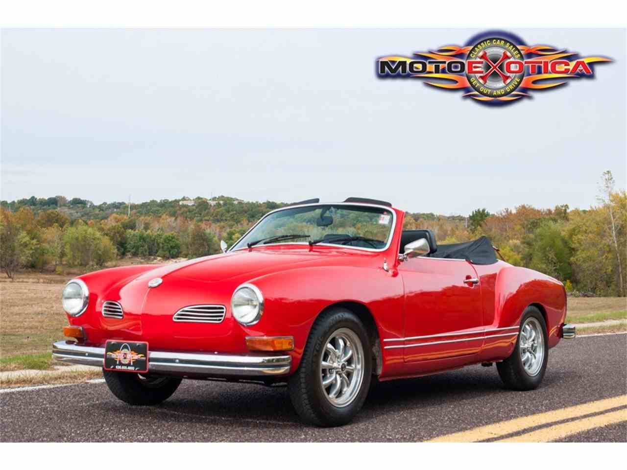 Large Picture of 1972 Karmann Ghia - $21,900.00 Offered by MotoeXotica Classic Cars - MB4C