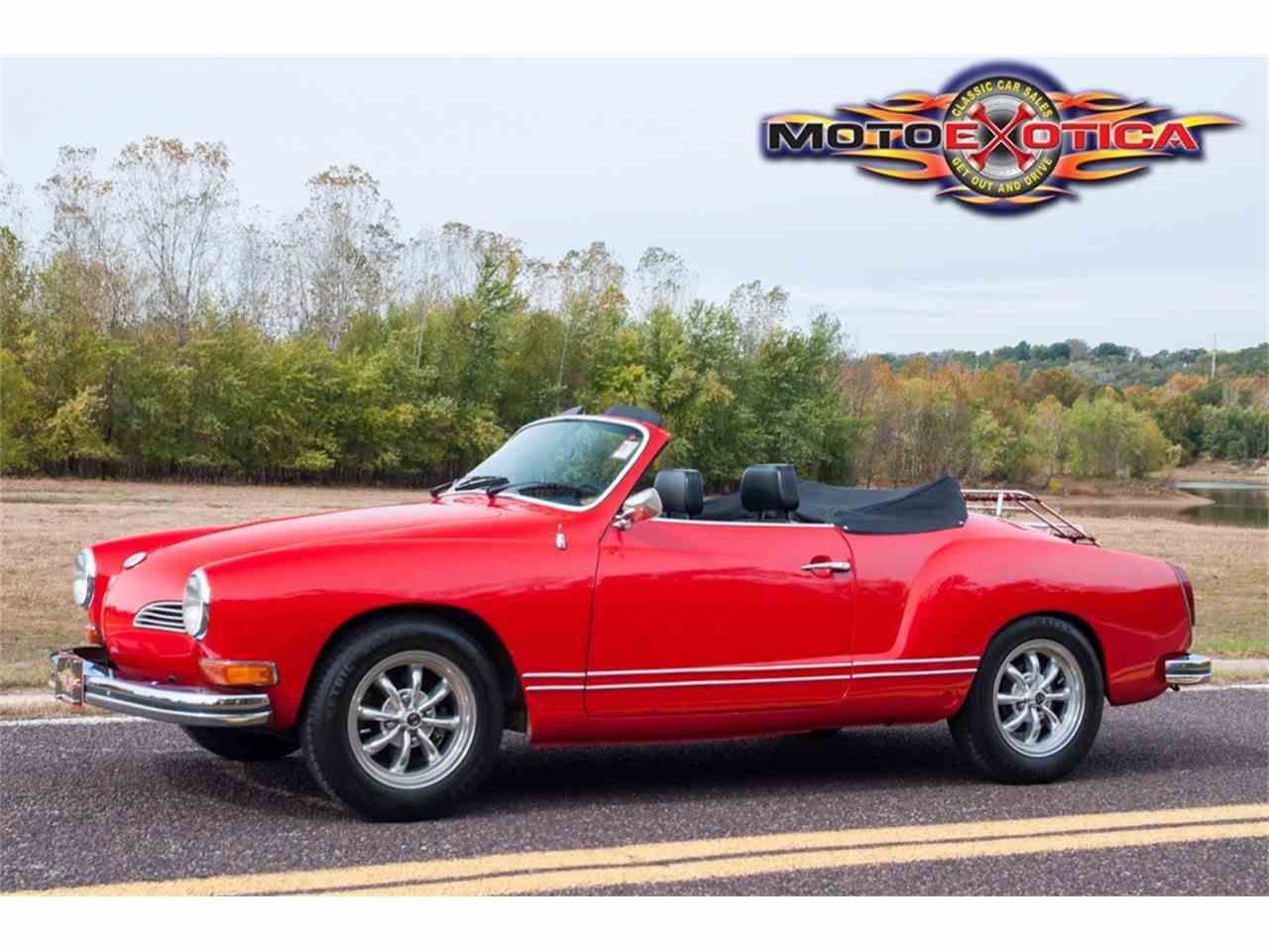 Large Picture of Classic '72 Volkswagen Karmann Ghia located in Missouri - $21,900.00 Offered by MotoeXotica Classic Cars - MB4C