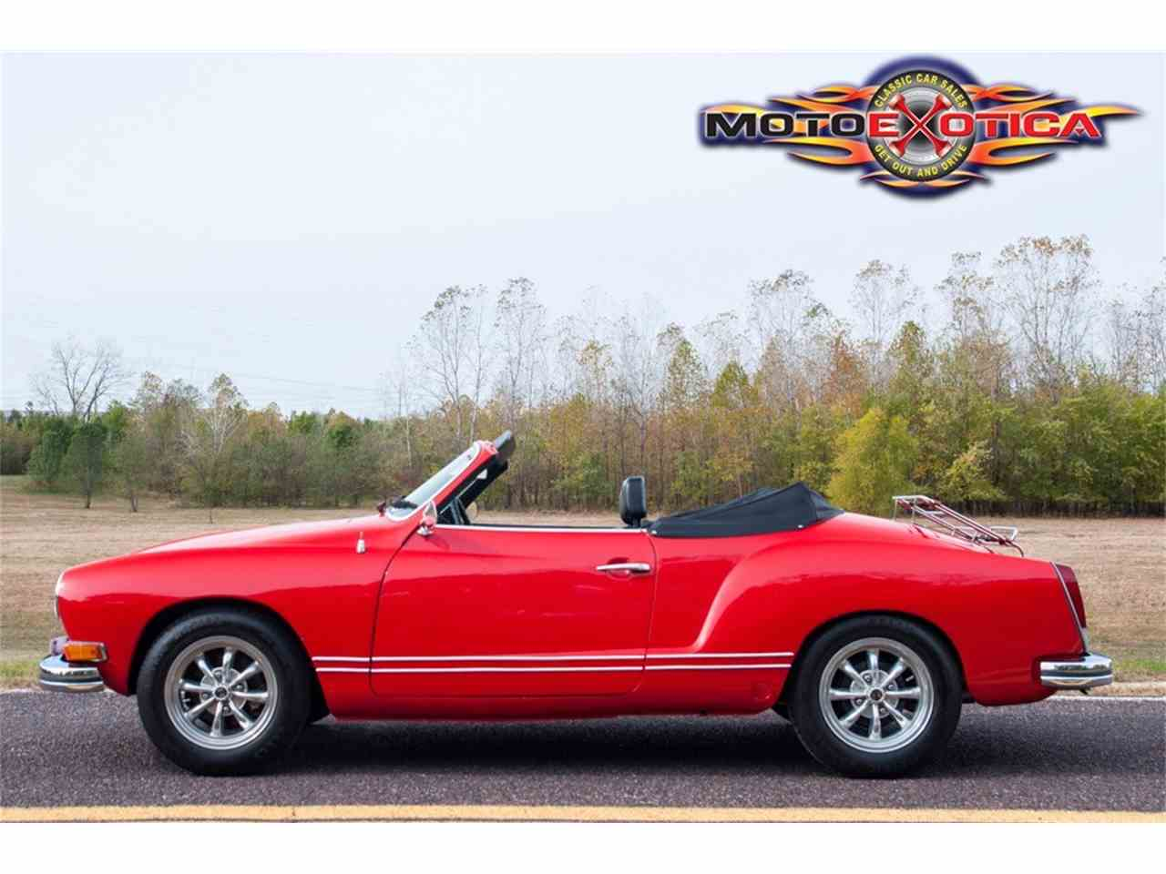 Large Picture of Classic 1972 Karmann Ghia - $21,900.00 Offered by MotoeXotica Classic Cars - MB4C