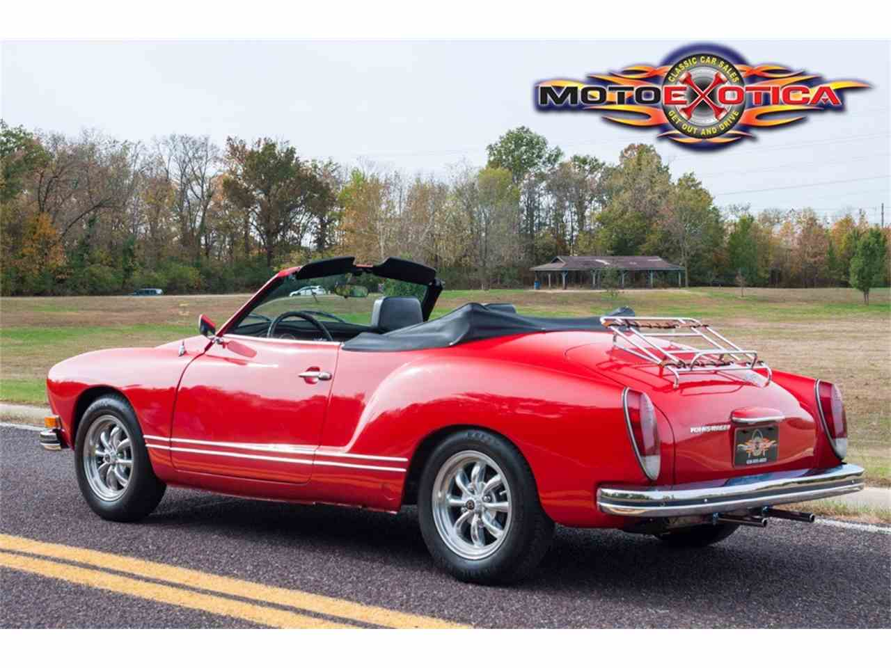 Large Picture of 1972 Karmann Ghia located in St. Louis Missouri - $21,900.00 Offered by MotoeXotica Classic Cars - MB4C