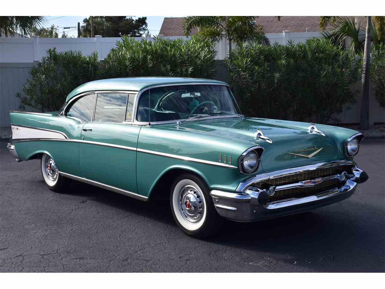 Large Picture of Classic 1957 Chevrolet Bel Air located in Venice Florida Auction Vehicle - MH2G