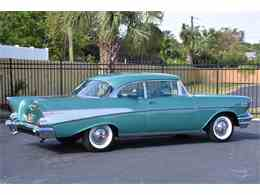 Picture of Classic '57 Chevrolet Bel Air Auction Vehicle - MH2G