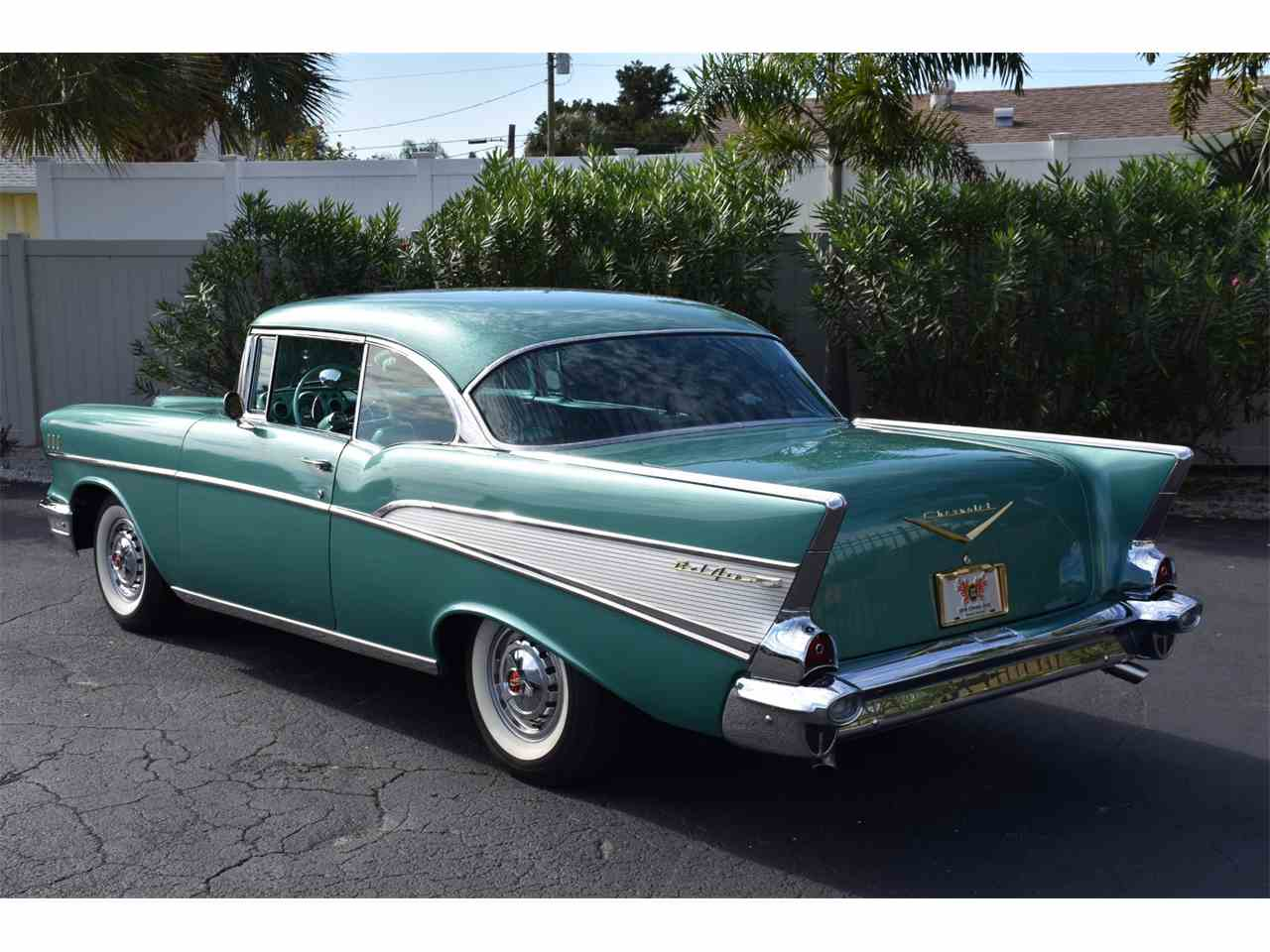 Large Picture of 1957 Bel Air located in Venice Florida Auction Vehicle Offered by Ideal Classic Cars - MH2G