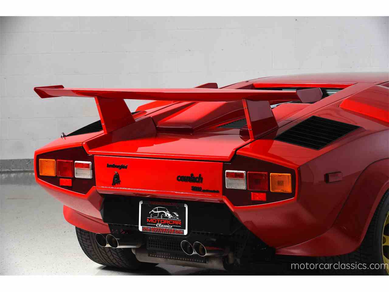 1987 Lamborghini Countach For Sale Classiccars Com Cc