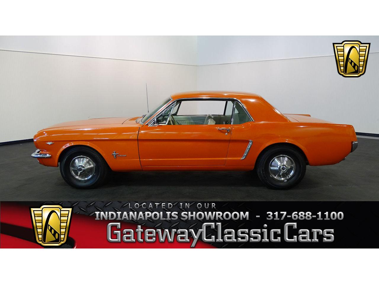 Large Picture of '65 Mustang located in Indianapolis Indiana Offered by Gateway Classic Cars - Indianapolis - MB4P