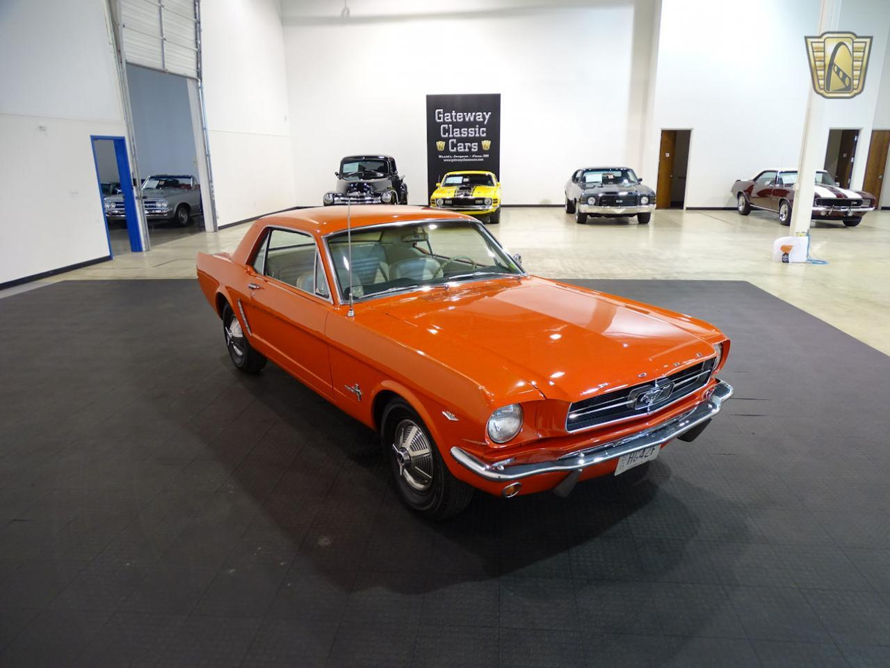 Large Picture of Classic 1965 Ford Mustang located in Indiana Offered by Gateway Classic Cars - Indianapolis - MB4P