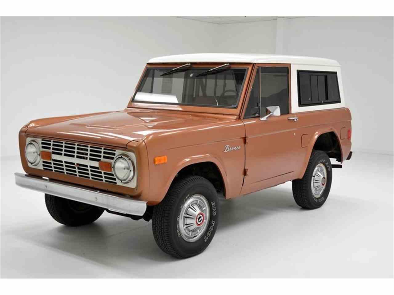 1977 ford bronco for sale cc 1048588. Black Bedroom Furniture Sets. Home Design Ideas