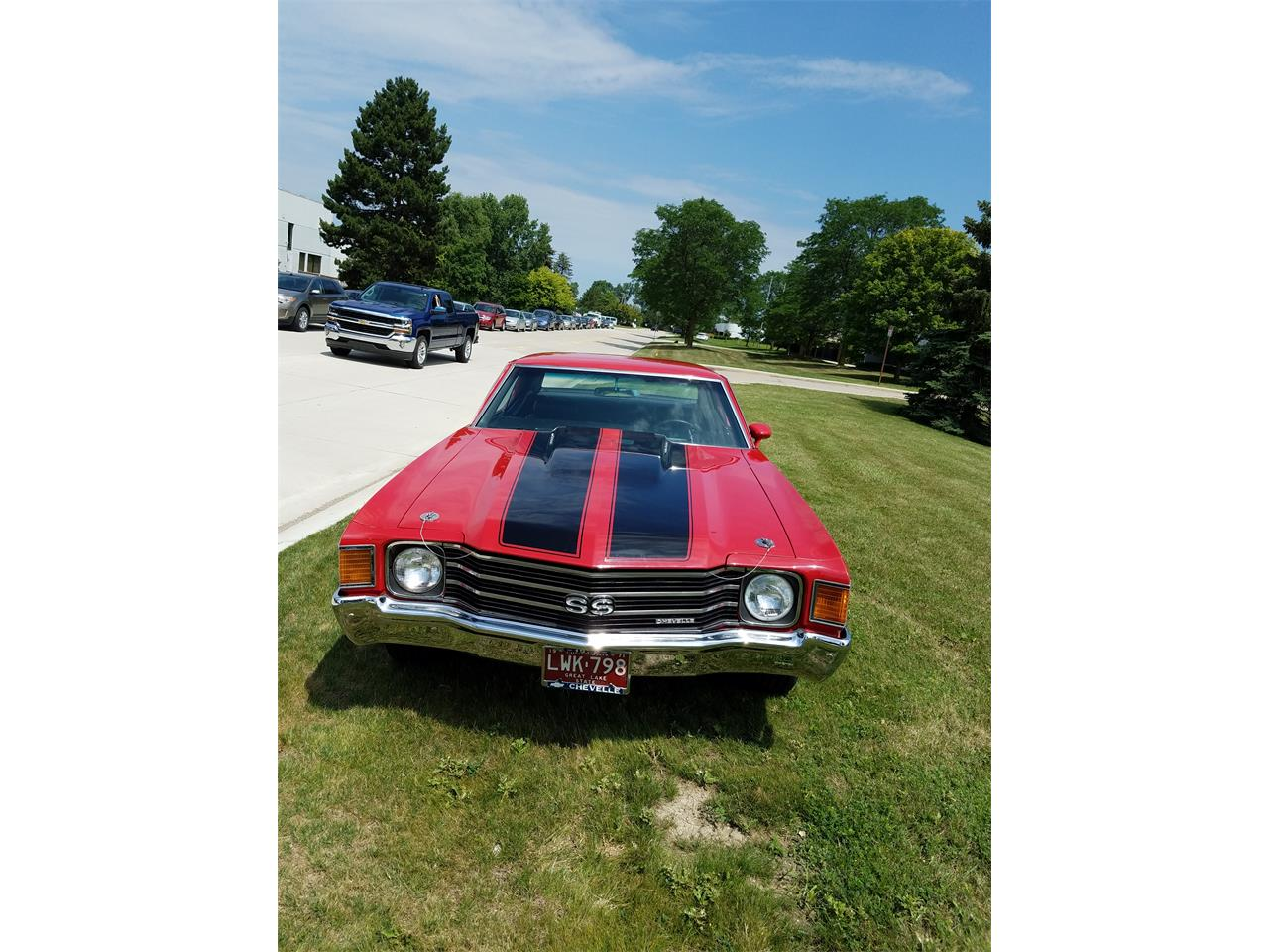 Large Picture of '72 Chevrolet Chevelle SS located in Rochester Hills Michigan Offered by a Private Seller - MH4Z