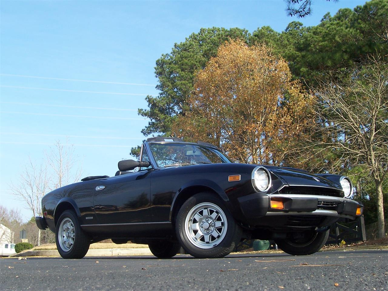 Large Picture of '85 Fiat Spider located in Georgia - $14,900.00 Offered by Cloud 9 Classics - MH5P