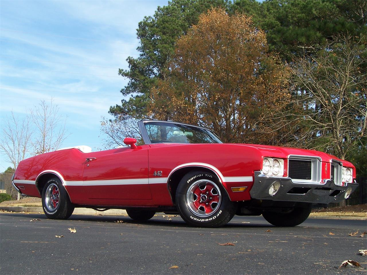 Large Picture of '71 Oldsmobile Cutlass located in Georgia - $38,500.00 Offered by Cloud 9 Classics - MH68