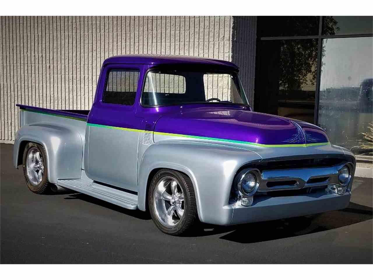Large Picture of Classic '56 F100 Auction Vehicle Offered by Barrett-Jackson Auctions - MH6S