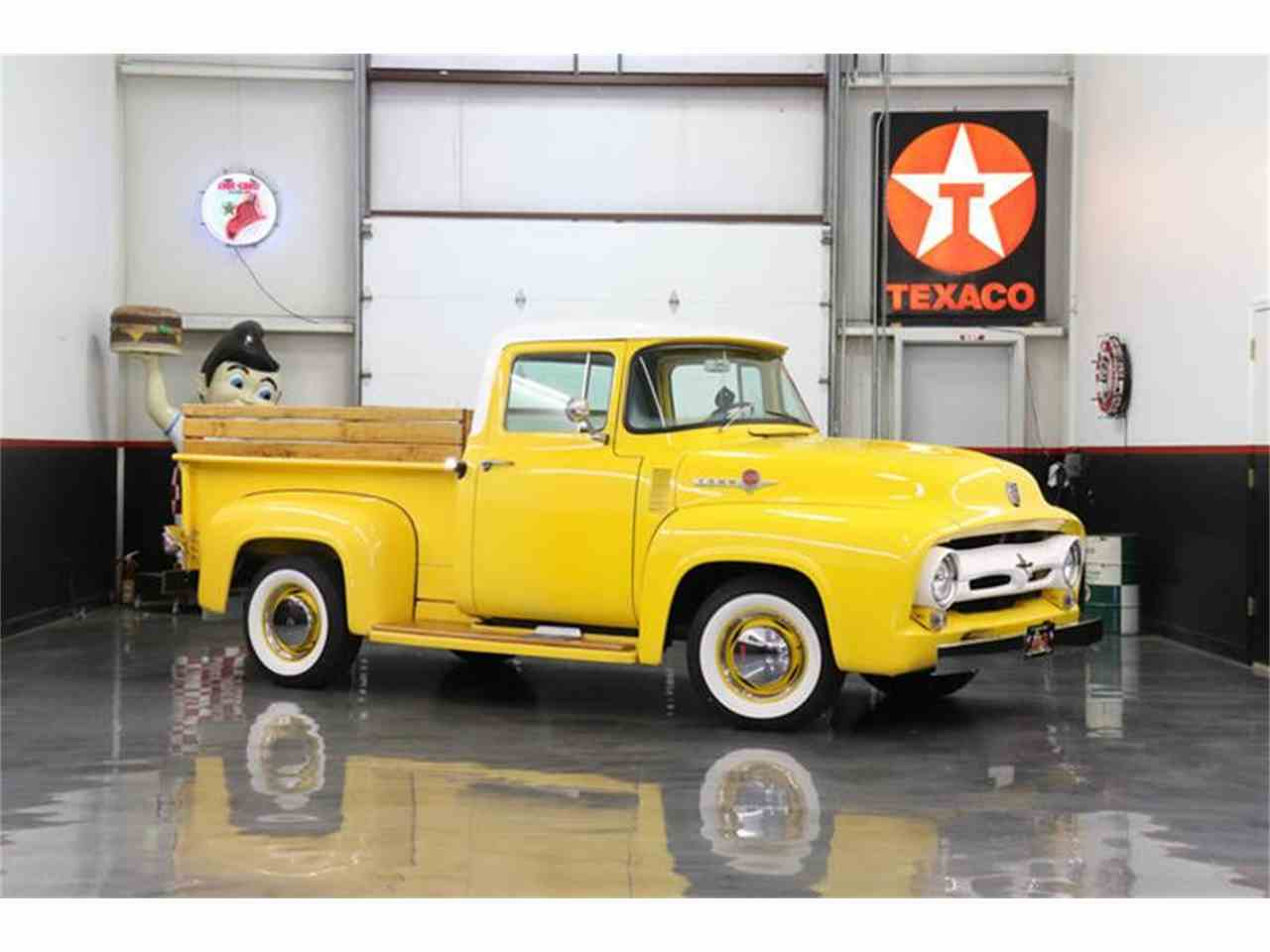 Large Picture of Classic '56 Ford F100 located in Fredericksburg Texas Offered by Street Dreams Texas - MB5A