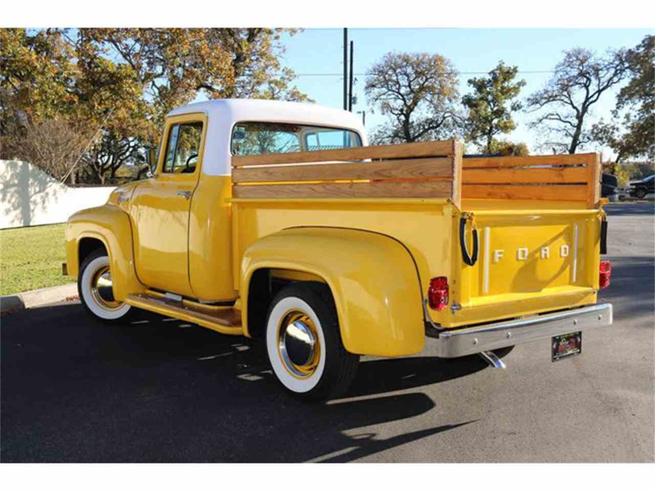 Large Picture of Classic 1956 Ford F100 located in Fredericksburg Texas - $29,500.00 - MB5A