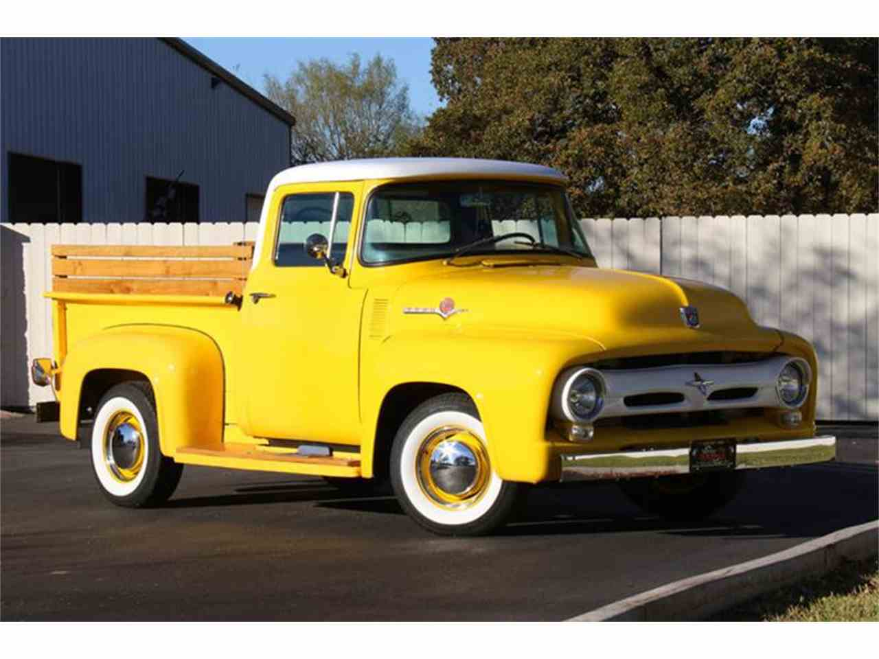 Large Picture of Classic '56 F100 located in Fredericksburg Texas Offered by Street Dreams Texas - MB5A