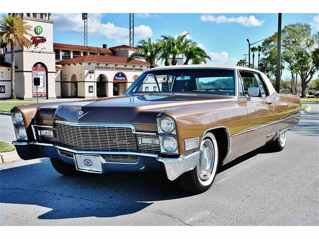 Large Picture of 1968 Cadillac DeVille located in Lakeland Florida - $12,500.00 Offered by Primo Classic International LLC - MHC1