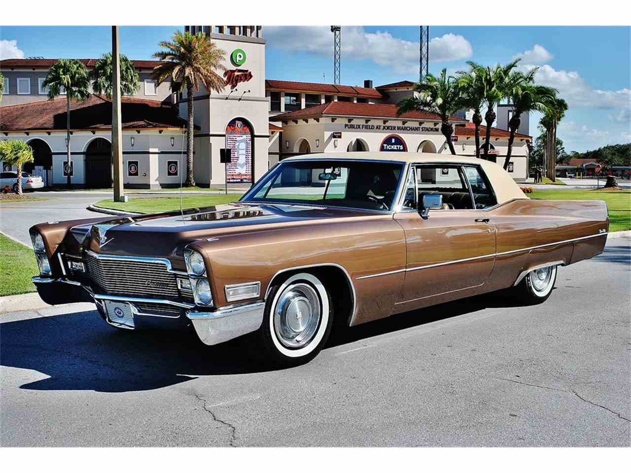 Large Picture of Classic 1968 DeVille located in Lakeland Florida - $12,500.00 - MHC1