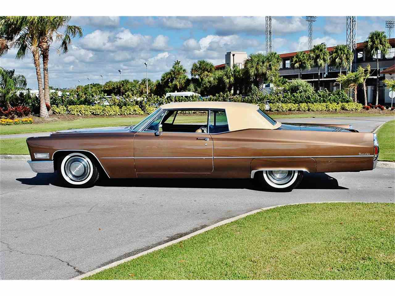 Large Picture of Classic 1968 Cadillac DeVille located in Florida - $12,500.00 - MHC1