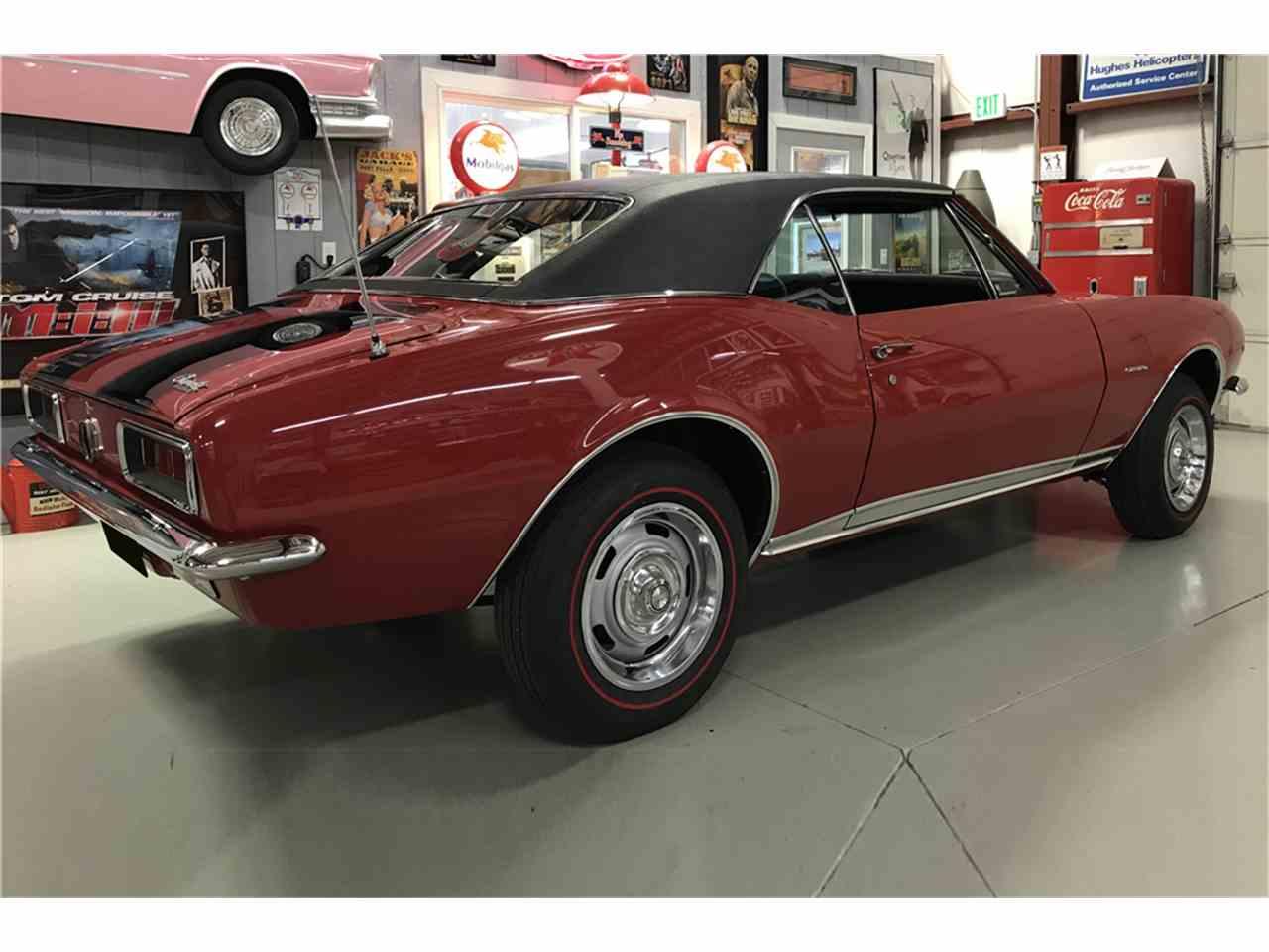 1967 chevrolet camaro rs z28 for sale cc 1049103. Black Bedroom Furniture Sets. Home Design Ideas