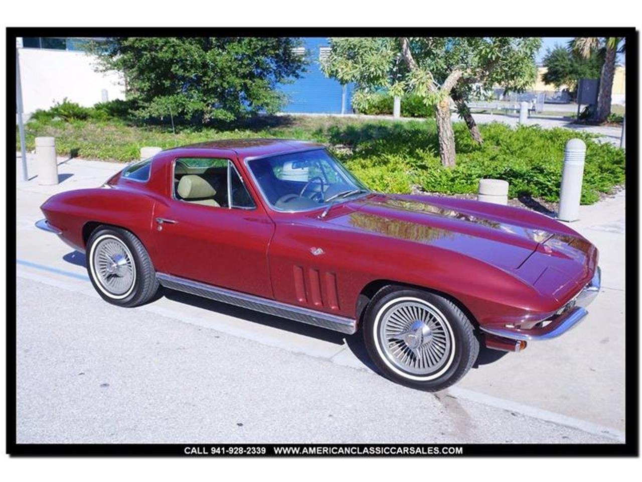 Large Picture of Classic '66 Corvette - $74,880.00 Offered by American Classic Car Sales - MHPA