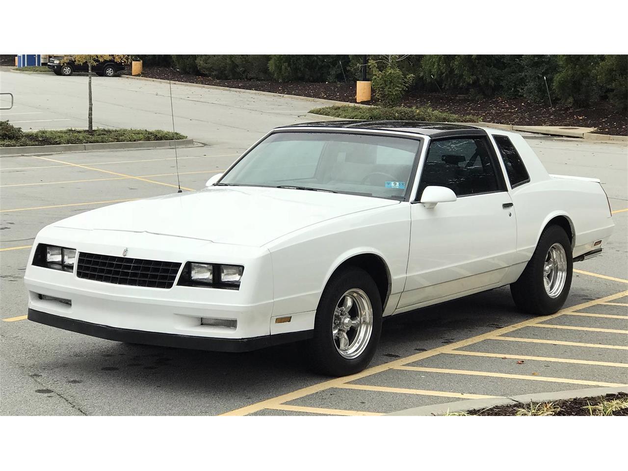 Ss Monte Carlo >> 1988 Chevrolet Monte Carlo Ss For Sale Classiccars Com Cc 1040946