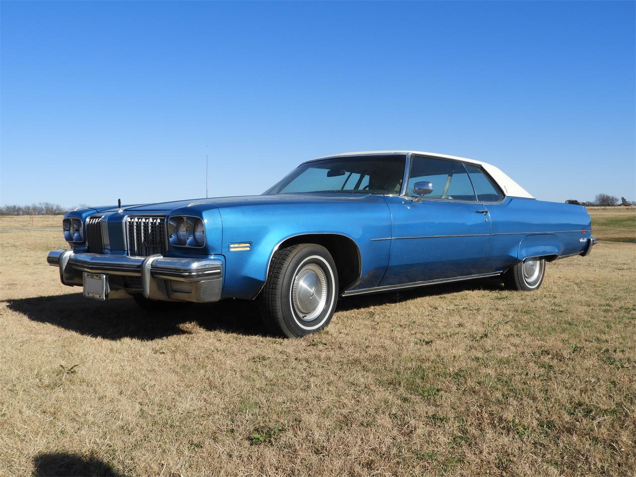Large Picture of '74 Oldsmobile 98 Offered by Ball Auction Service - MHTU
