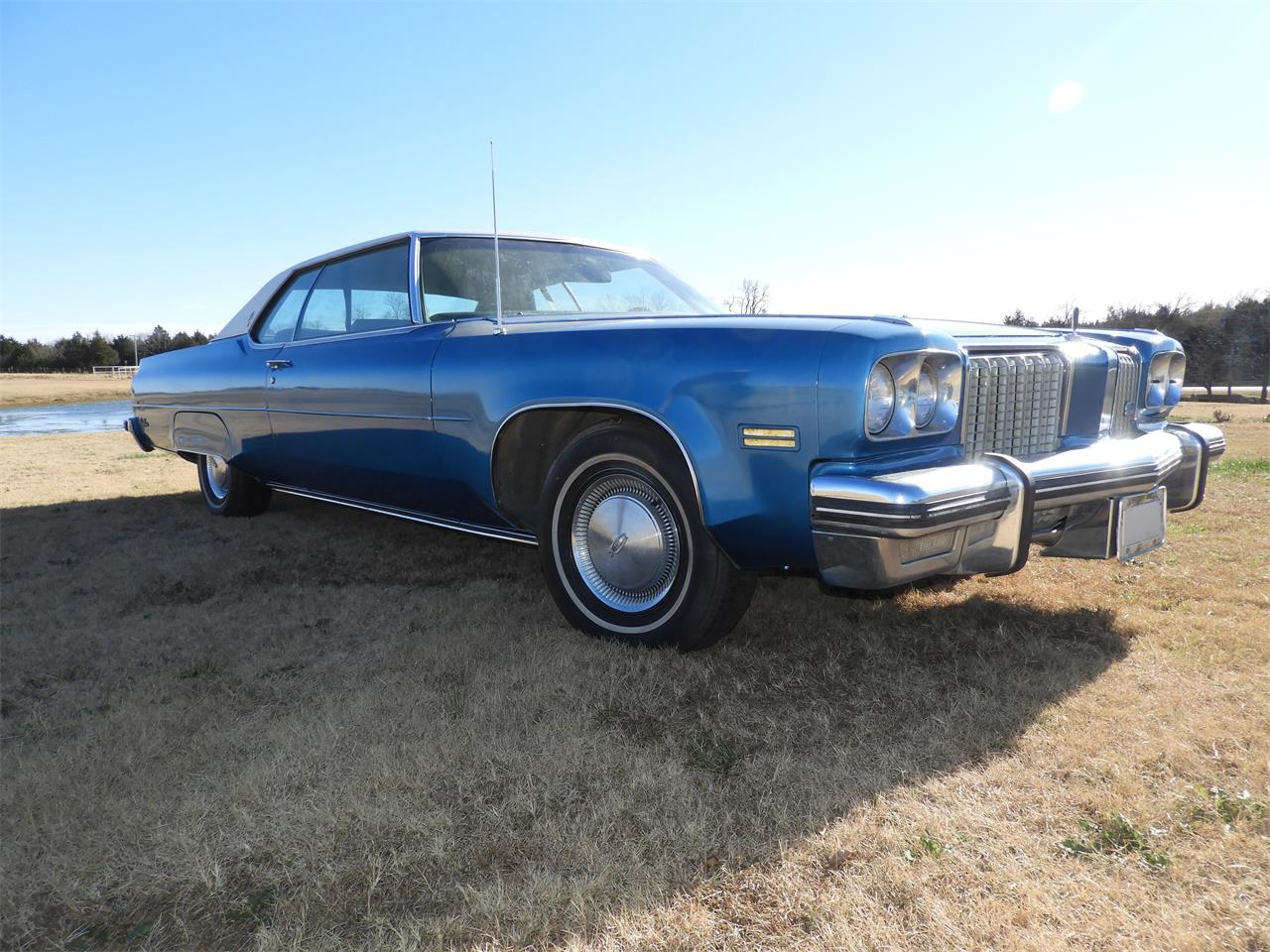Large Picture of '74 98 Offered by Ball Auction Service - MHTU