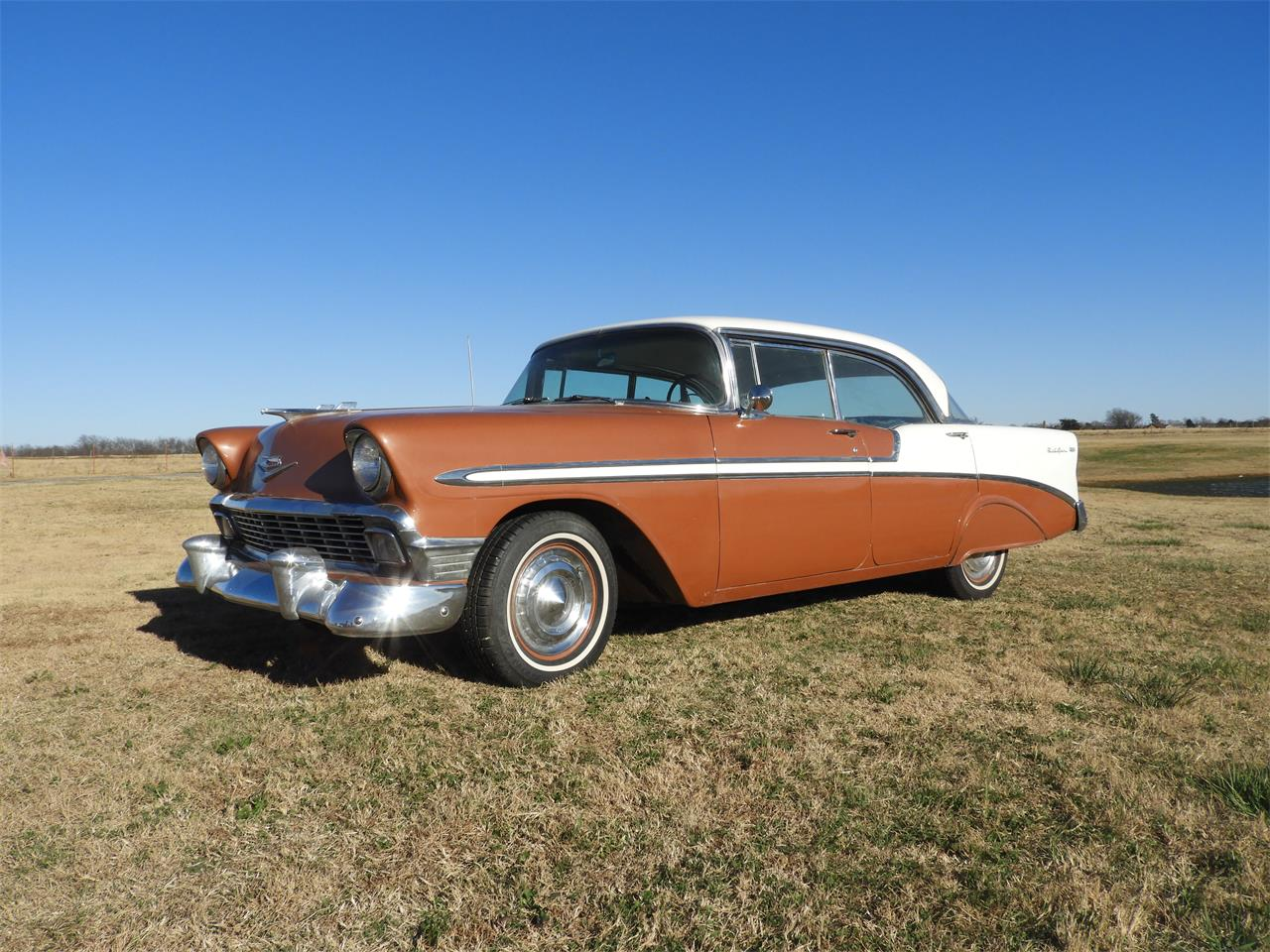 Large Picture of '56 Chevrolet Bel Air - MHU4