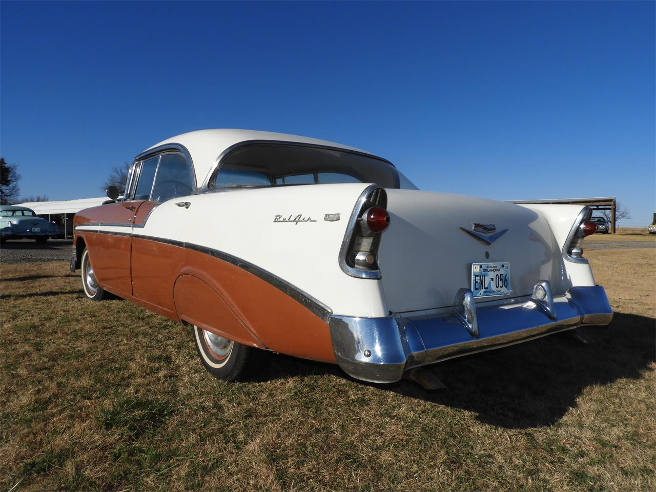 Large Picture of Classic 1956 Chevrolet Bel Air located in Shawnee Oklahoma Auction Vehicle - MHU4
