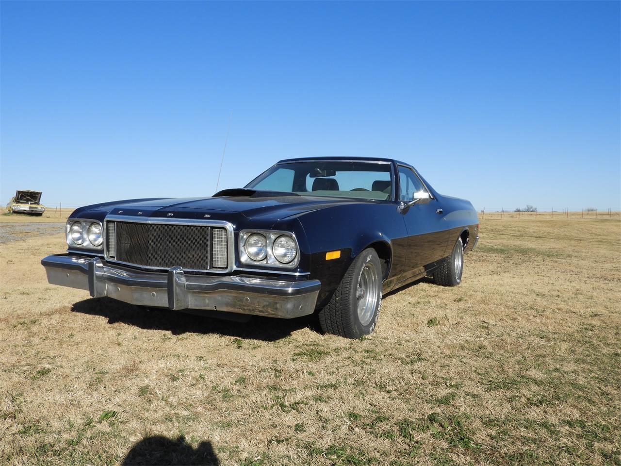 Large Picture of '76 Ford Ranchero located in Oklahoma Auction Vehicle - MHU5