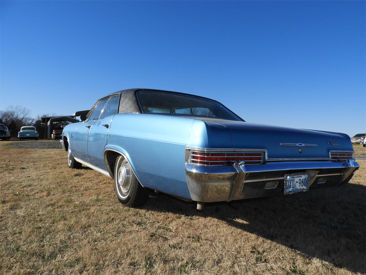 Large Picture of Classic 1966 Chevrolet Caprice located in Oklahoma Auction Vehicle Offered by Ball Auction Service - MHU7
