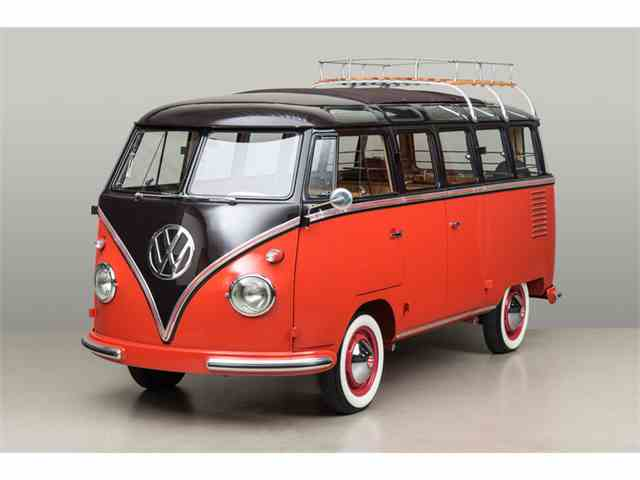 Picture of '58 Deluxe Microbus 23 Window - MHX8