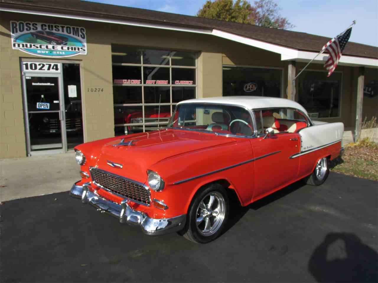 Large Picture of Classic 1955 Chevrolet Bel Air - $42,900.00 Offered by Ross Custom Muscle Cars LLC - MB7V