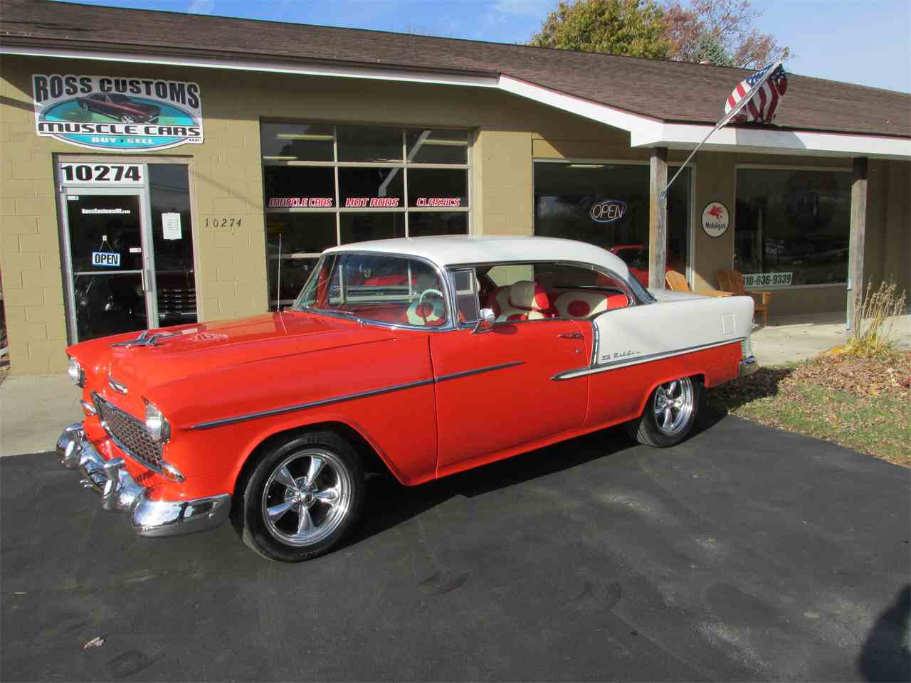 Large Picture of Classic '55 Bel Air - $42,900.00 - MB7V