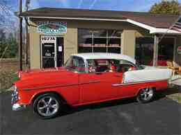 Picture of '55 Chevrolet Bel Air located in Goodrich Michigan - $42,900.00 Offered by Ross Custom Muscle Cars LLC - MB7V