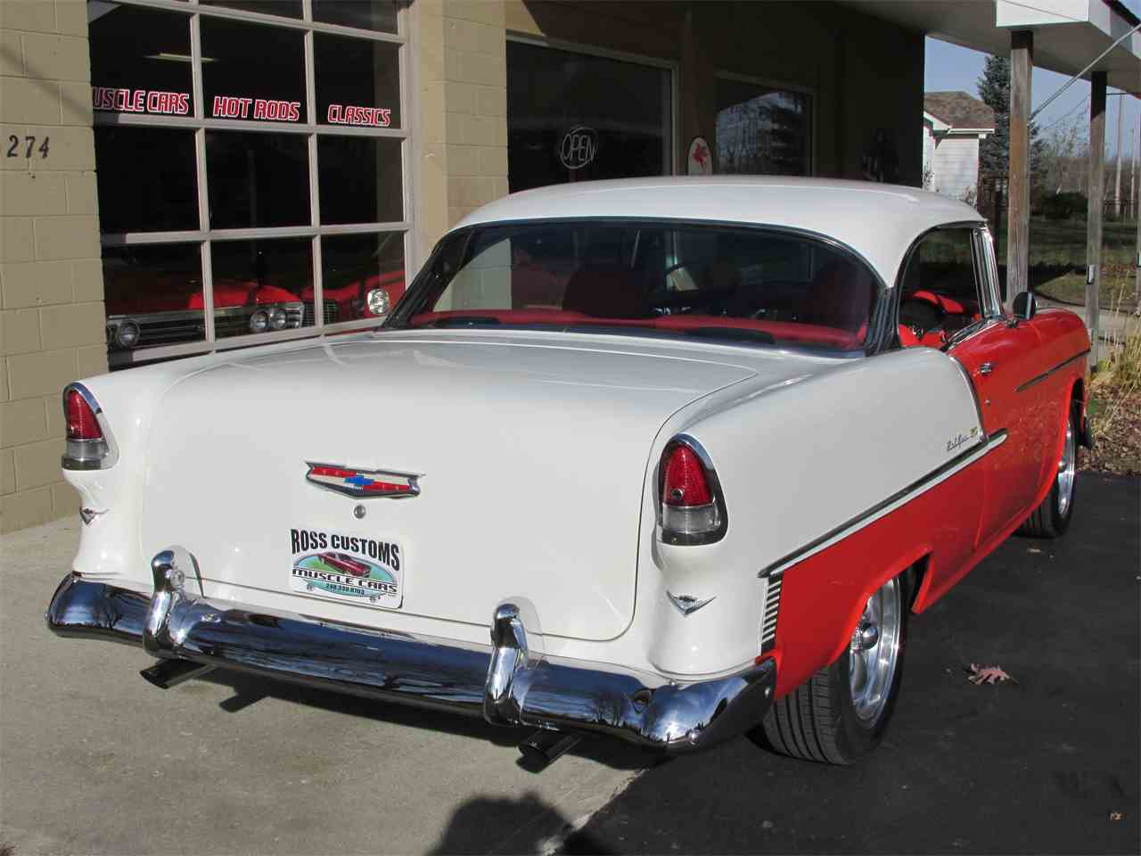 Large Picture of Classic '55 Chevrolet Bel Air located in Goodrich Michigan - $42,900.00 - MB7V