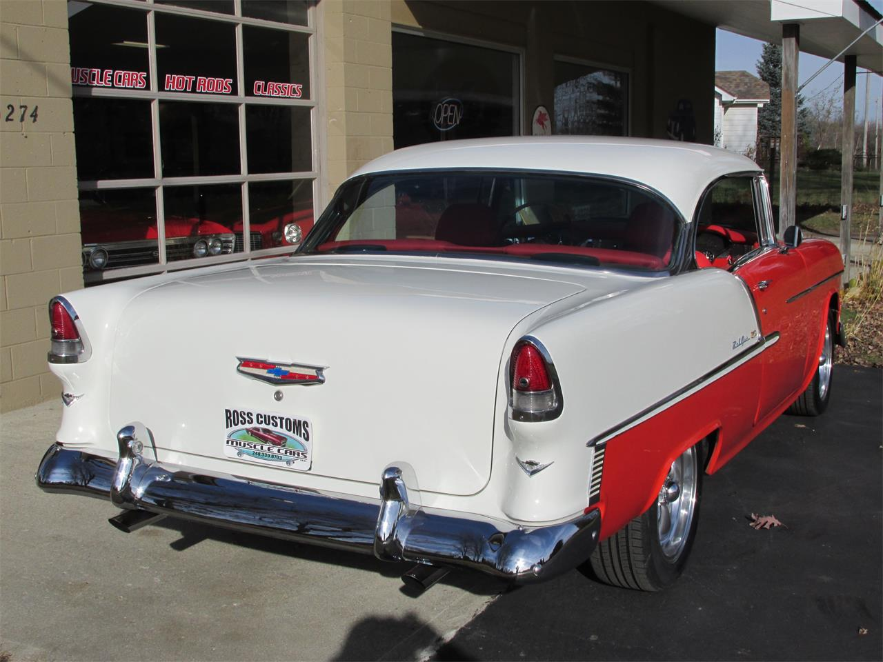 Large Picture of '55 Bel Air - MB7V