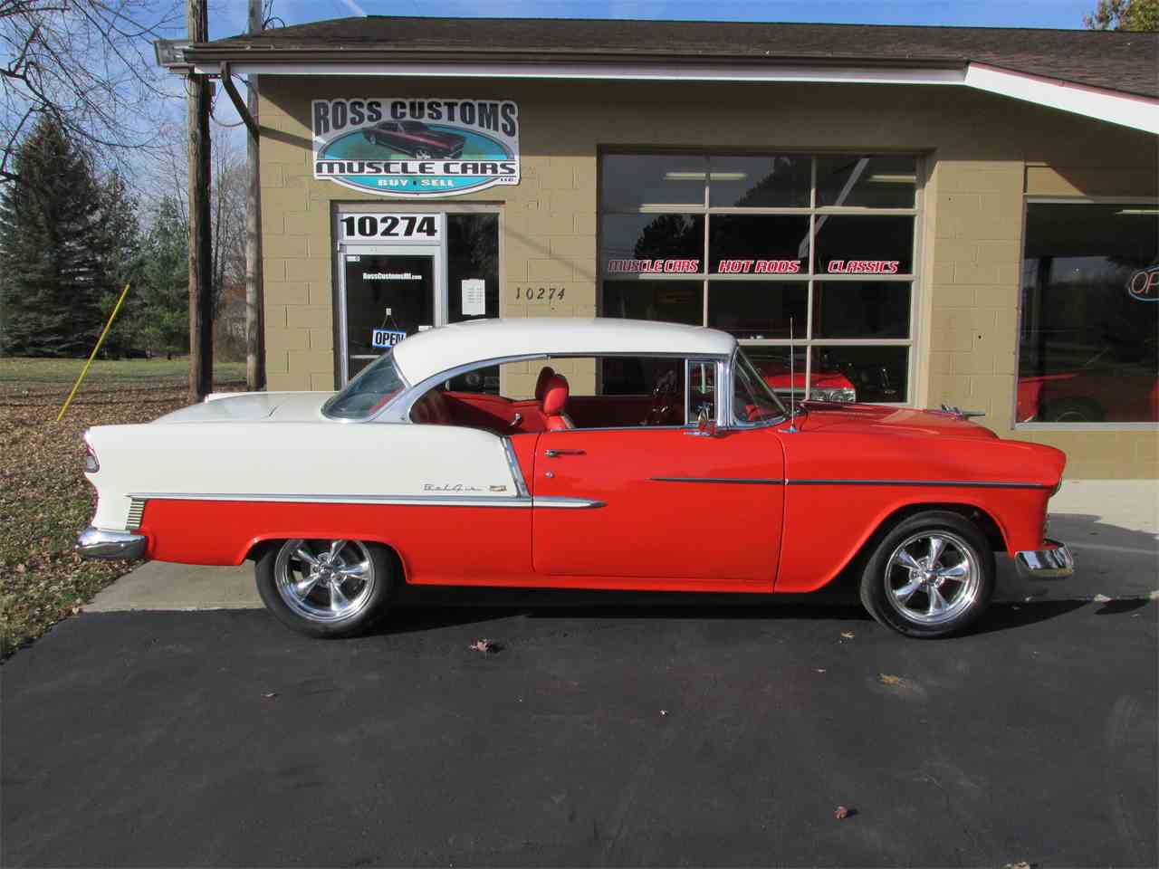 Large Picture of Classic '55 Chevrolet Bel Air - $42,900.00 - MB7V