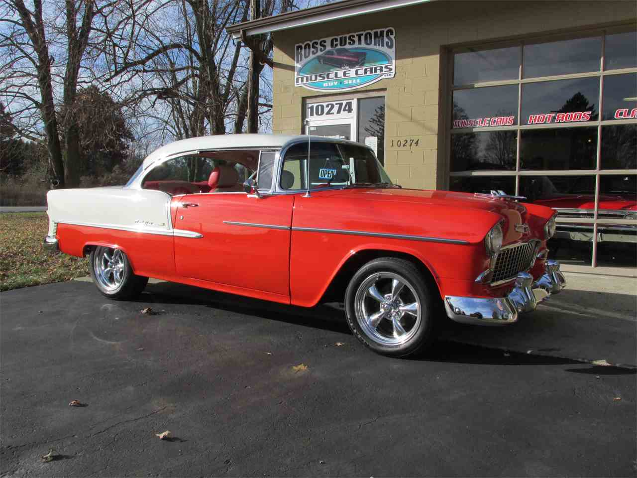 Large Picture of Classic 1955 Chevrolet Bel Air Offered by Ross Custom Muscle Cars LLC - MB7V