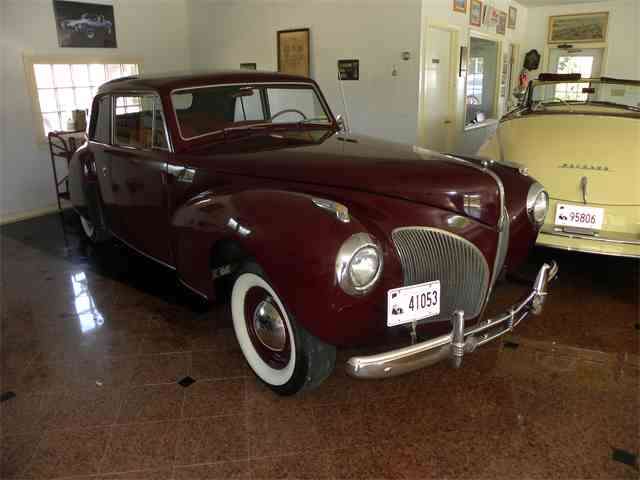 Picture of '41 Lincoln Continental - $16,900.00 Offered by Vintage Motorcars LLC Conneticut - MI2F