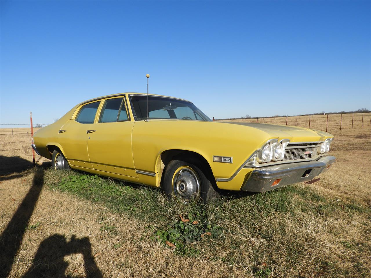 Large Picture of '68 Chevrolet Chevelle Malibu located in Cushing Oklahoma - MI2I