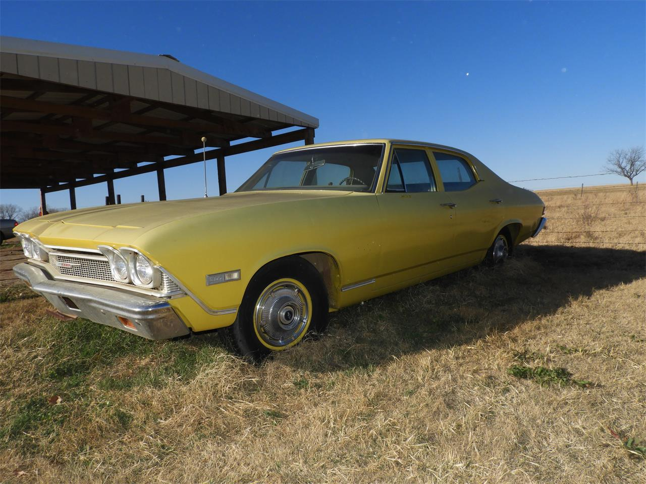 Large Picture of 1968 Chevrolet Chevelle Malibu Offered by Ball Auction Service - MI2I