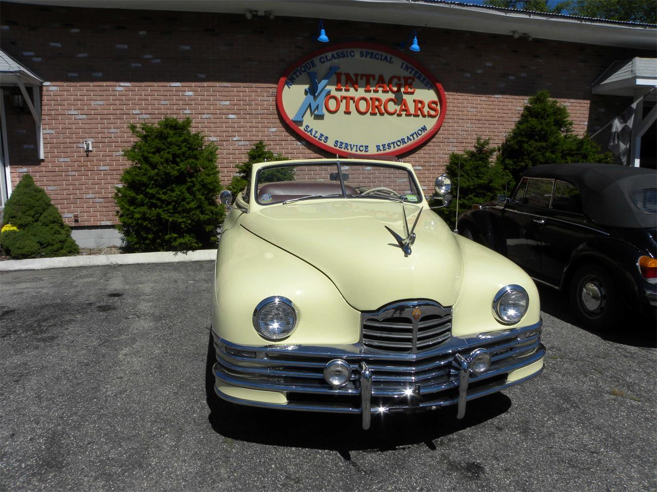 Large Picture of '48 Packard Convertible Offered by Vintage Motorcars LLC Connecticut - MI2J