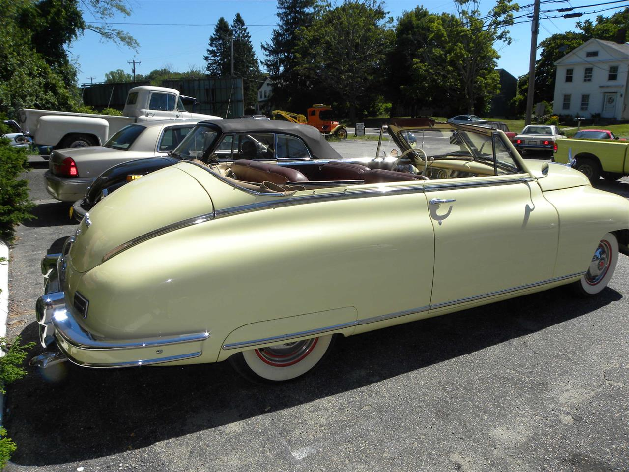 Large Picture of Classic 1948 Packard Convertible - $45,000.00 Offered by Vintage Motorcars LLC Connecticut - MI2J