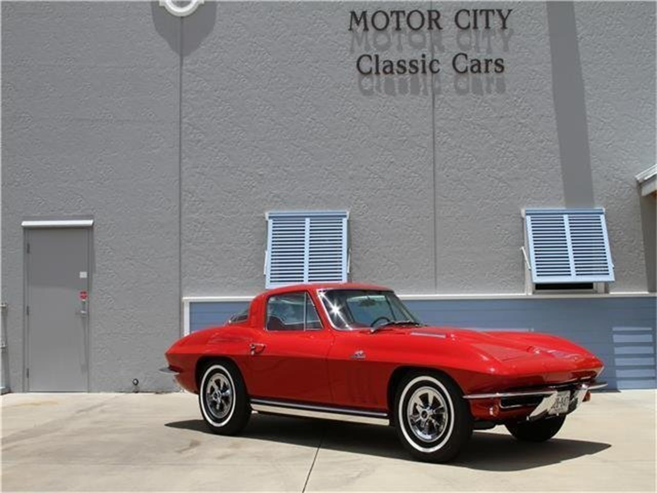 Large Picture of '65 Corvette located in Vero Beach Florida Offered by Motor City Classic Cars - MAJN