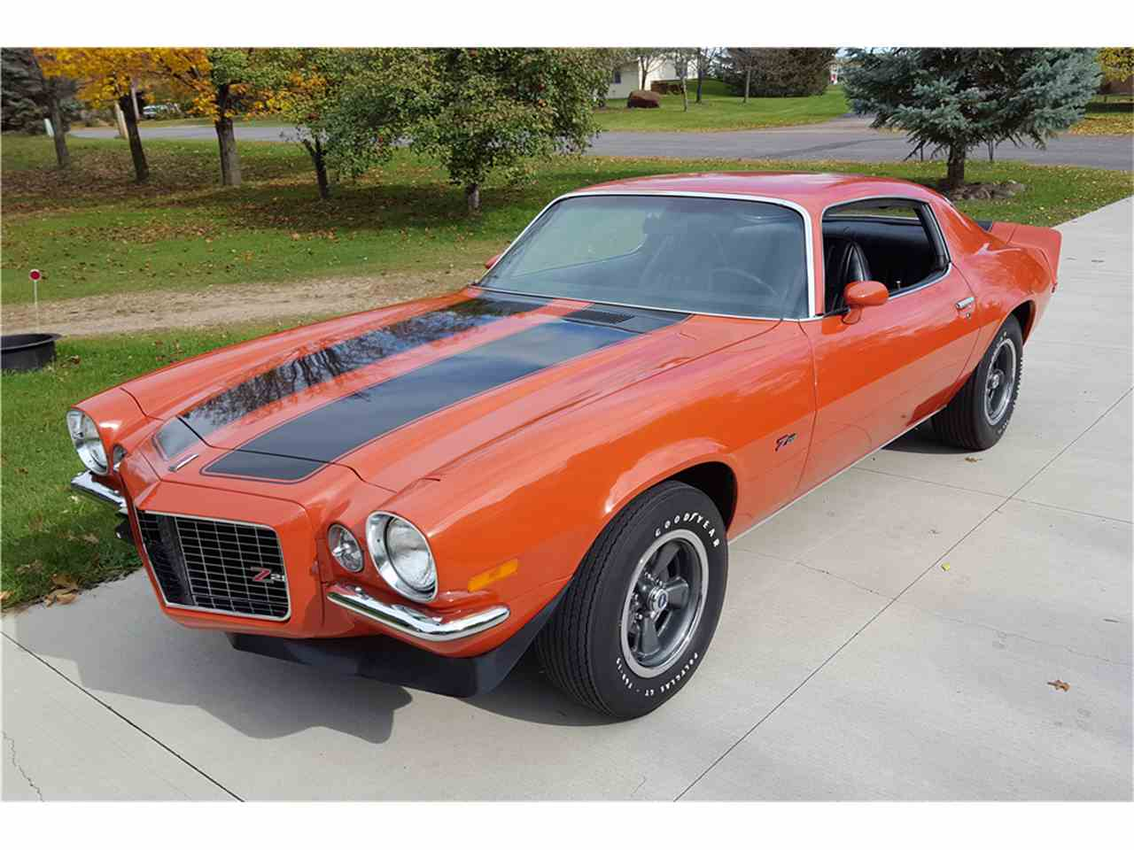 1972 chevrolet camaro rs z28 for sale cc 1049961. Black Bedroom Furniture Sets. Home Design Ideas