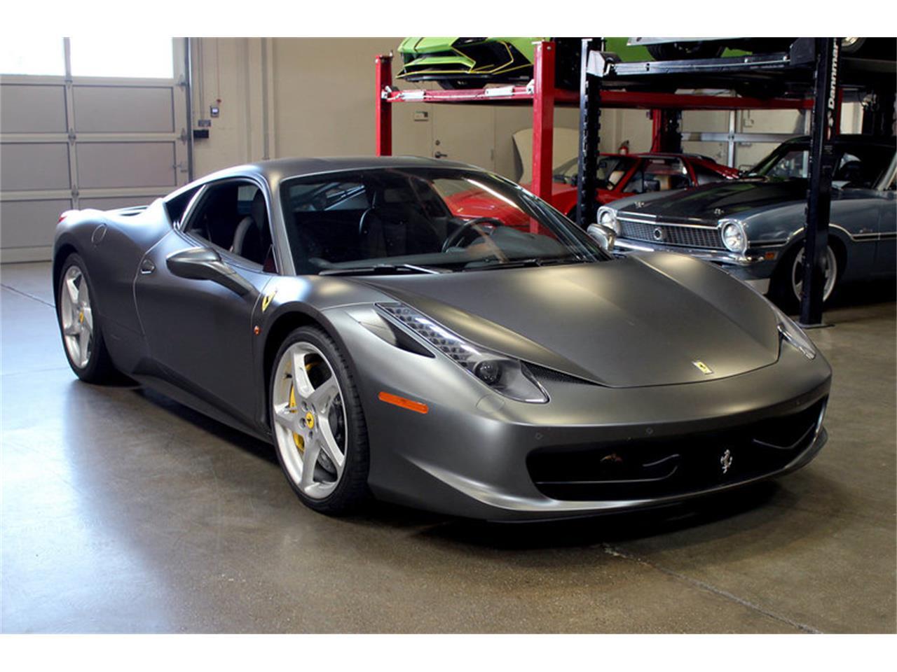 Ferrari 458 Italia For Sale >> For Sale 2013 Ferrari 458 Italia In San Carlos California