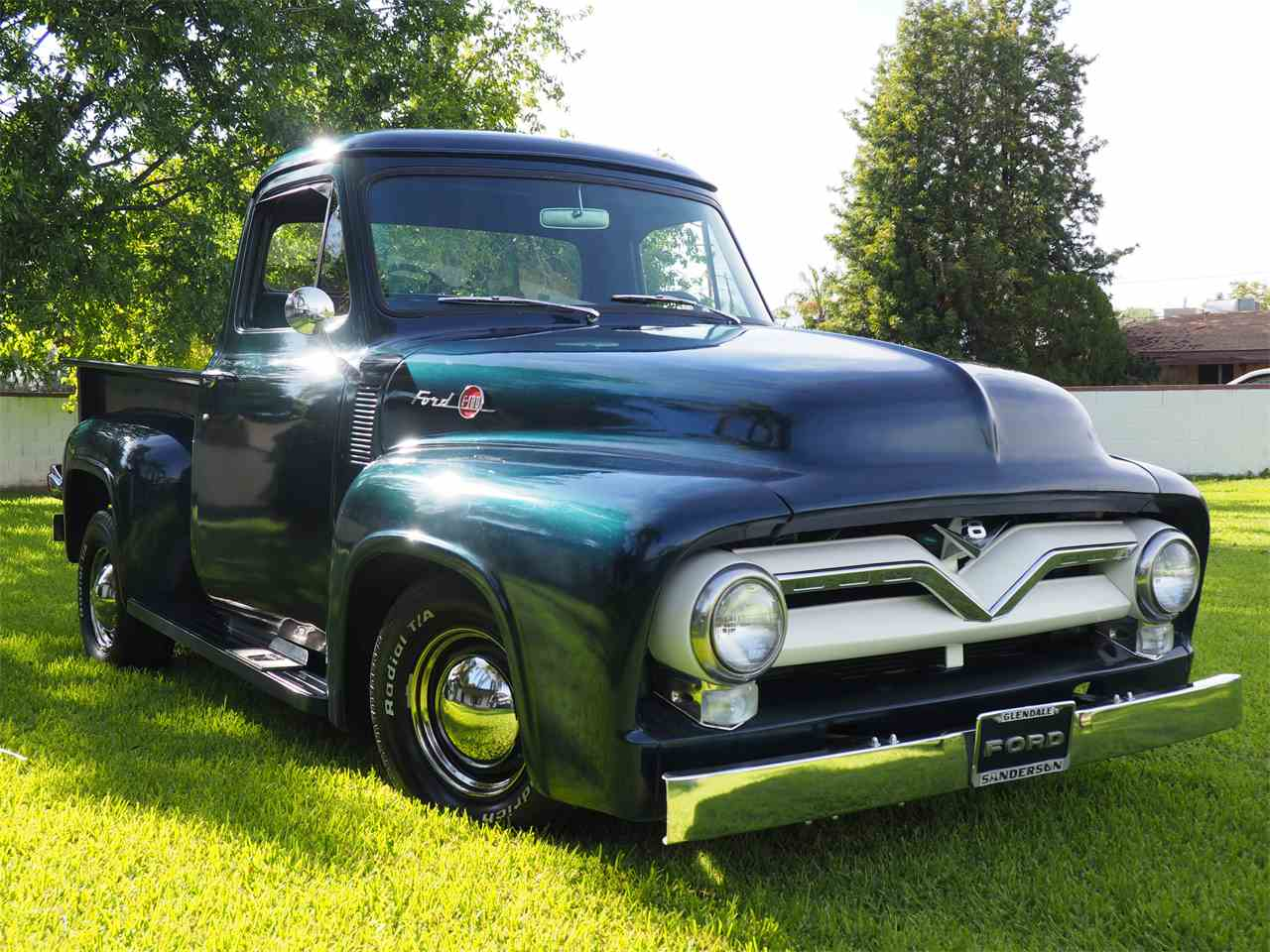 1955 ford f100 for sale cc 1051123. Black Bedroom Furniture Sets. Home Design Ideas